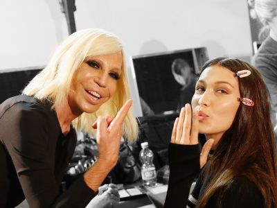 Donatella Versace, Model Whisperer, Lip Syncs For Her Life To Bruno Mars