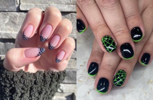 15 Spider Web Nail Art Ideas To Inspire Your Spooky Season Manicure