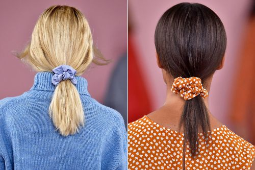 Are scrunchies really cool again?