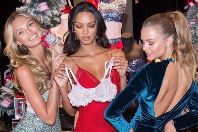 Here's how Victoria's Secret models dress for winter