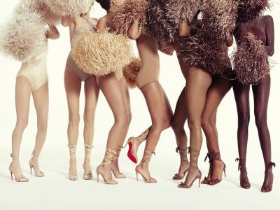 Christian Louboutin is now selling two new styles of nude shoes in a range of skin tones