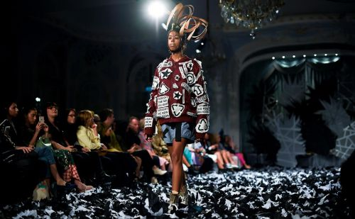 Nettles with royal roots hit the London catwalks