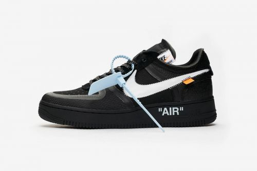 """A Clean Look at the Off-White™ x Nike Air Force 1 """"Black"""""""