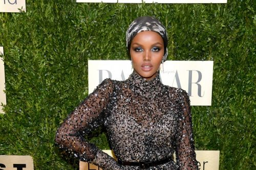 Just Try to Look Away From Halima Aden's Head-to-Toe Sparkle