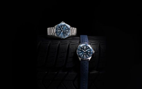 Get up to speed with TAG Heuer Formula 1 Bucherer Blue Editions