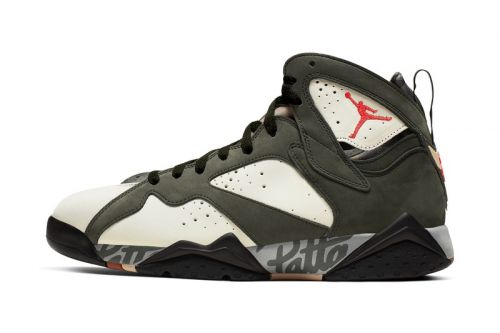 """The Patta x Air Jordan 7 """"Icicle"""" Is Releasing This Weekend"""