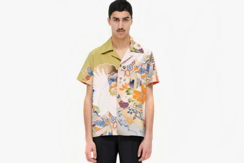 Maison Margiela's Summer 2019 Chemise Shirt Gets Inspo from Woodblock Prints