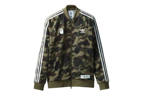 BAPE & adidas Originals Link up on Camouflage adicolor Collection