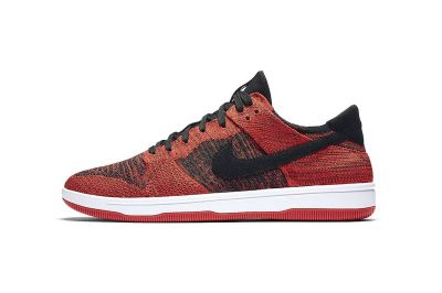 Nike Gives the Dunk Low Flyknit the Iconic 'Bred' Treatment
