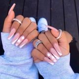 """The """"Side Tip"""" Nail Art Trend May Be Your Next Go-To If You're Over the French Manicure"""