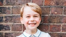 Prince George Just Got the Cutest Portrait Taken For His Birthday
