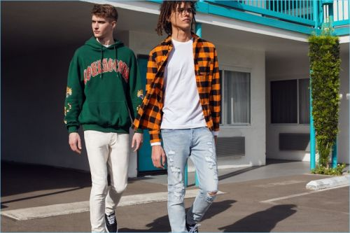 A Relaxed Mode: Roberto Rossellini & Logan Flatte for H&M