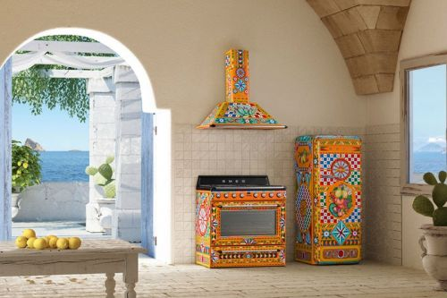 Dolce & Gabbana x Smeg Drop a Sicilian Culture-Inspired New Kitchen Range