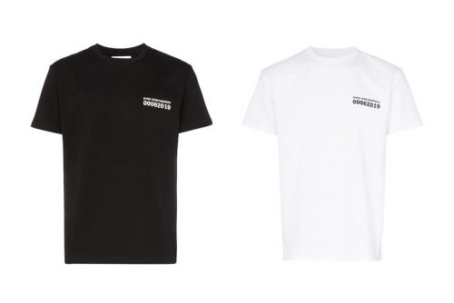 Kiko Kostadinov's River Logo Tee Features a Bold Back Graphic