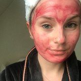 This Acid Face Mask Looks Like Blood - but Will Leave You Feeling Like a Newborn