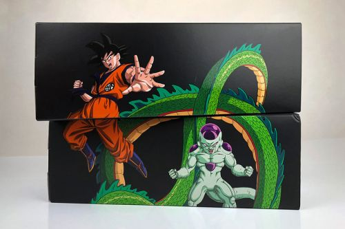 Collecting All the 'Dragon Ball Z' x adidas Shoeboxes Reveals an Original Illustration
