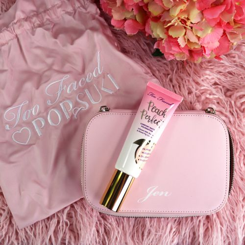 Peach Perfect Comfort Too Faced Matte Foundation Giveaway!