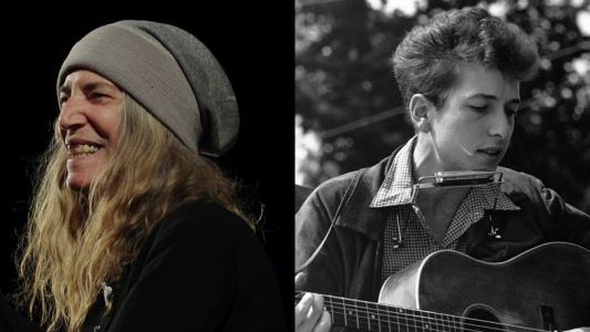 Patti Smith to play a socially-distanced show for Bob Dylan's 80th birthday