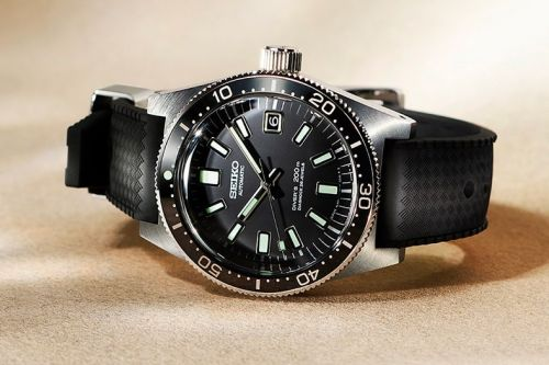 BEAMS and SEIKO Faithfully Redesign the 1965 Dive Watch