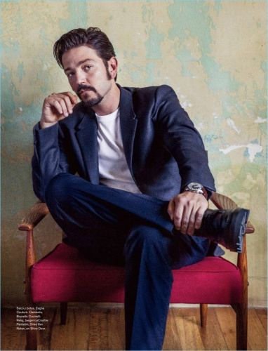 Diego Luna Covers Life & Style México, Talks Activism