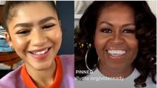 'Proud' Michelle Obama Congratulates Zendaya On Historic Emmy Win