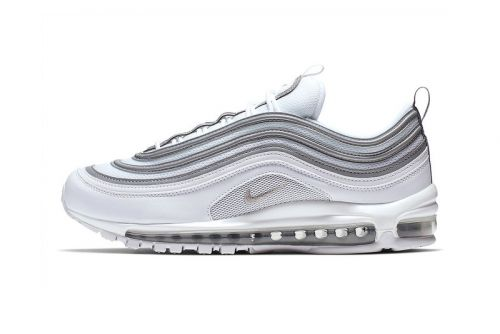 "Nike Air Max 97 ""White/Metallic Silver"" Surfaces for Spring"