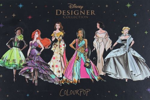 ColourPop X Disney Designer Collection.Magical!