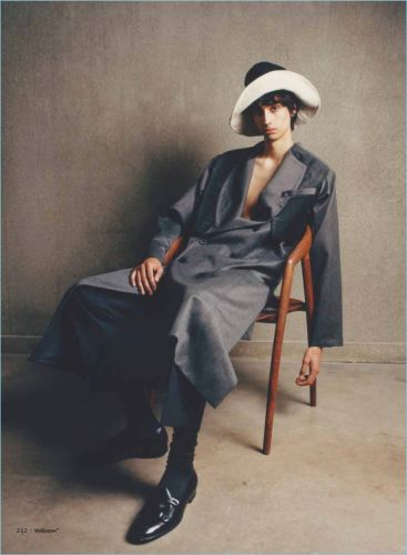 Coat Tales: Aramish Mangi for Wallpaper Magazine