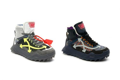 Off-White™ Drops the ODSY High-Top in Three Colorblocked Iterations