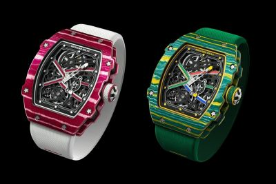 Richard Mille Drops the Performance-Focused 67-02 Sprint And High Jump