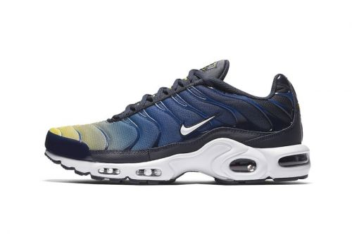 Nike Adds a Yellow & Blue Gradient Mix to the Air Max Plus