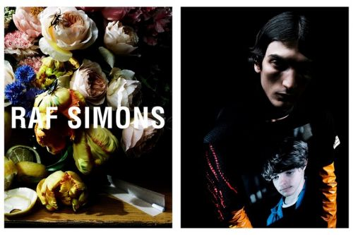 Raf Simons' drug-inspired show now has a drug-inspired campaign