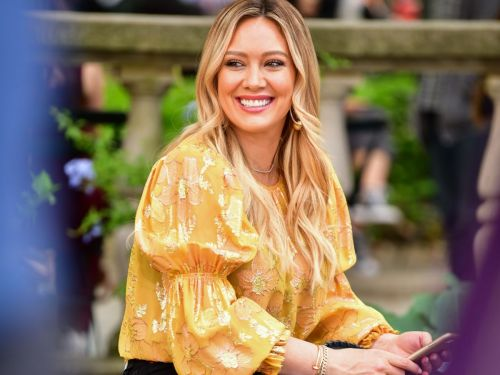Hilary Duff Just Brought Back Her Lizzie McGuire Haircut - & We're In Love