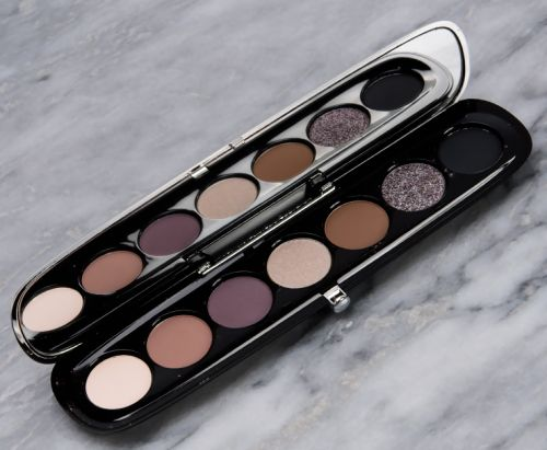Marc Jacobs Beauty Steel Eye-Conic Eyeshadow Palette Review & Swatches