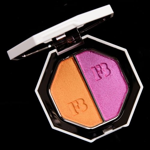 Fenty Beauty Mimosa Sunrise/Sangria Sunset Killawatt Foil Freestyle Highlighter Duo Review, Photos, Swatches