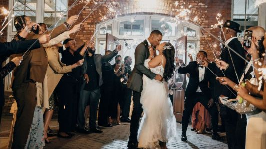 Bridal Bliss: Their First Wedding Got Cancelled, So Alisha and Jordan Went All Out This Time