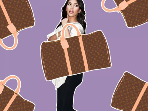 An Illustrated History Of Kim Kardashian & Her Louis Vuitton Bags