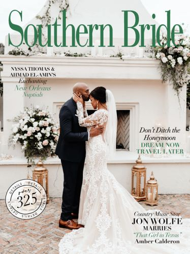 """An Enchanting, New Orleans """"I Do"""" Dazzles on the Cover of the New Summer 2020 Issue"""