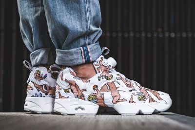 The New Reebok InstaPump Fury Is Covered in a Cupid Print