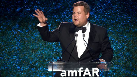 James Corden's Harvey Weinstein Jokes At AmfAR Gala Elicit Groans, Criticism
