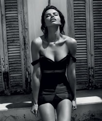Adriana Lima in Dolce&Gabbana for Harper's Bazaar Spain