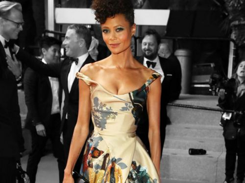 Thandie Newton's Cannes Dress Celebrates Star Wars' Black Characters