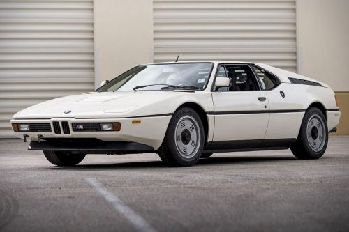 Unrestored 1981 BMW M1 in Its Rare Original Form Is Now up for Auction