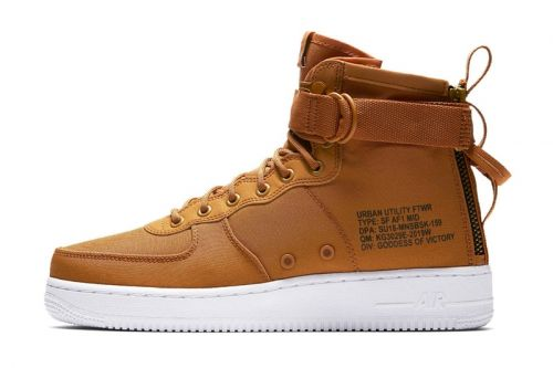 """Nike's SF-AF1 Mid Returns in a """"Desert Ocre"""" Iteration"""