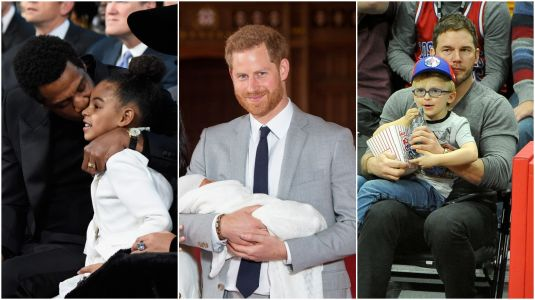 These 20 Sweet Photos of Celeb Dads With Their Kids Will Melt Your Heart
