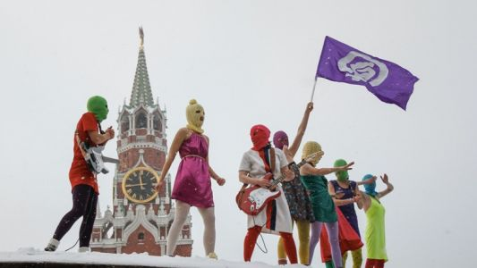 Pussy Riot confront Putin's presidential win in new song 'Elections'