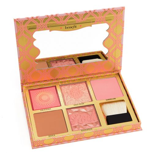 Benefit Blush Bar Cheek Palette Review & Swatches