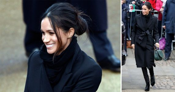 Meghan Markle wears Stella McCartney coat and Welsh label's jeans - buy her Cardiff outfit now
