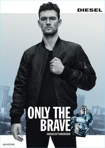 Alex Pettyfer Fronts Diesel Only the Brave Fragrance Campaign