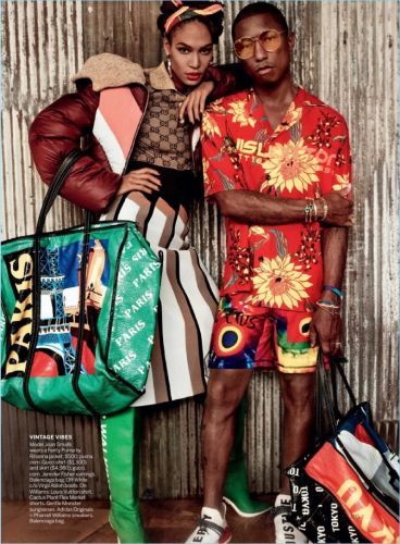 Pharrell Covers Special Edition of Vogue, Rocks Eclectic Style